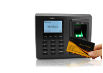 Access control card system